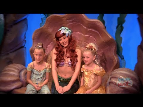 Ariel's Grotto meet-and-greet in New Fantasyland at Walt Disney World