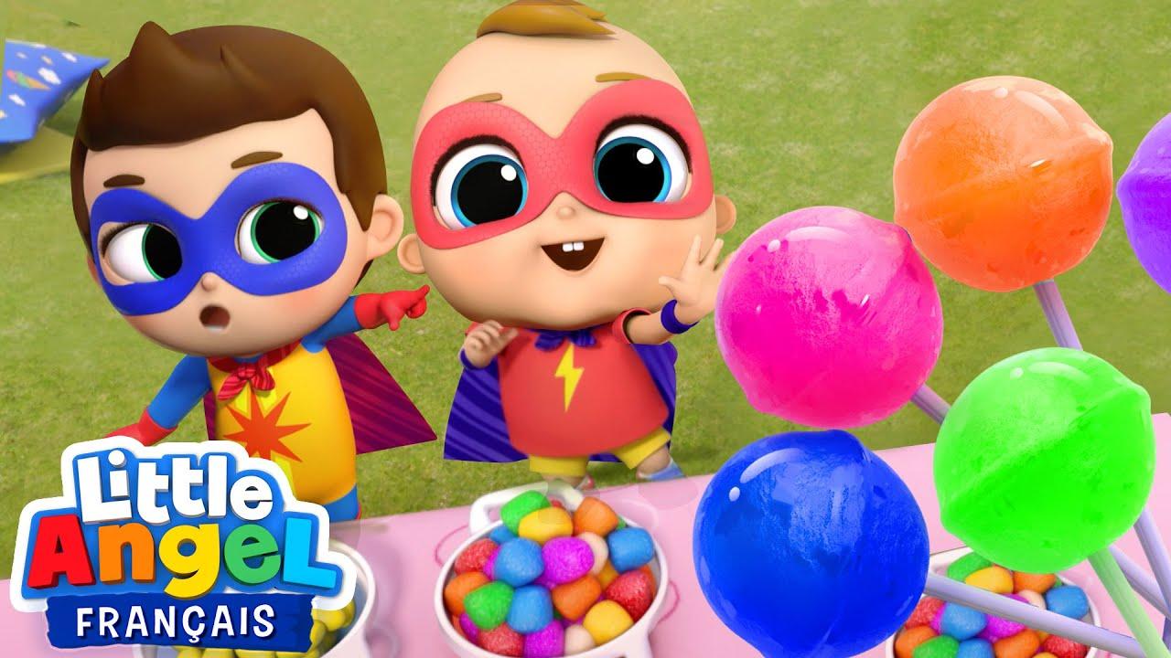 Download Miam! Des bonbons c'est trop bon | Comptines pour enfants  Little Angel Français
