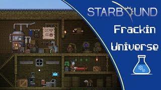Let´s Play Starbound Frackin Universe #16 Wir produzieren...Alkohol?!