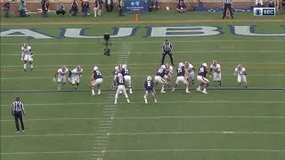 Auburn Offensive Line Vs. Alabama 2017