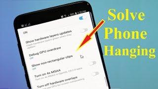 Mobile Hanging Problem Solve