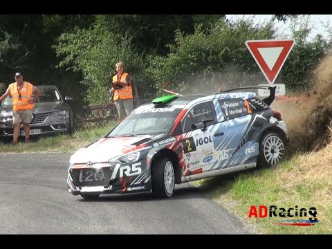 Rally du Rouergue 2017 Big Show Mistakes, Flat Out Jumps ADRacing