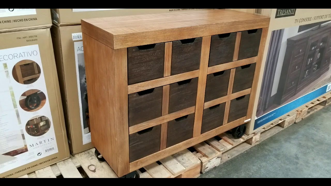 Costco Martin Furniture 44 Inch Accent Cabinet 229 Youtube