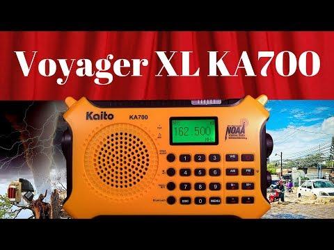 Kaito Voyager XL KA700 AM FM WB MP3 BT Recorder Radio Review