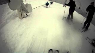 GOPRO  uniski   ski la plagne 2013