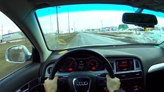 2010 audi a6 3 0 tfsi quattro s line pov test drive