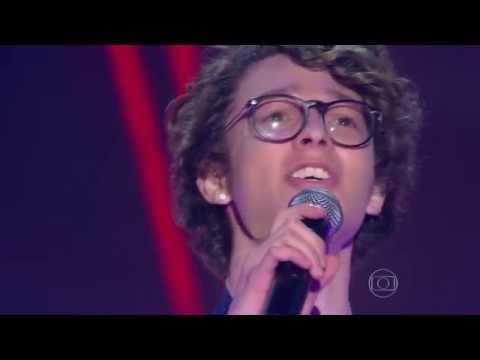 Ayrton Montarroyos canta 'Força Estranha' no The Voice Brasil - Audições | 4ª Temporada