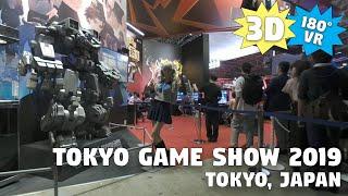 [3D VR] Tokyo Game Show 2019