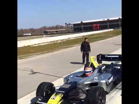 Jimmy Vasser Champ Car Panoz DP01 test at 02/12/2015 - YouTube