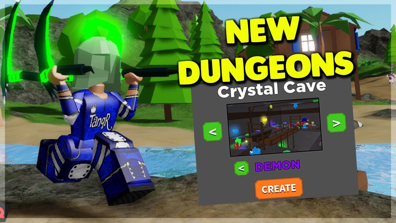 New Dungeon Game How To Start Treasure Quest Roblox Youtube