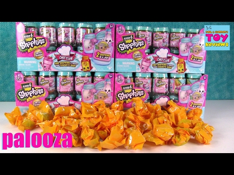 Shopkins Palooza Season 6 Chef Club 2 Pack...