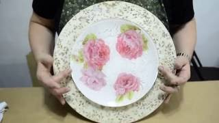 Sandra Rossi – Prato craqueado com guardanapo