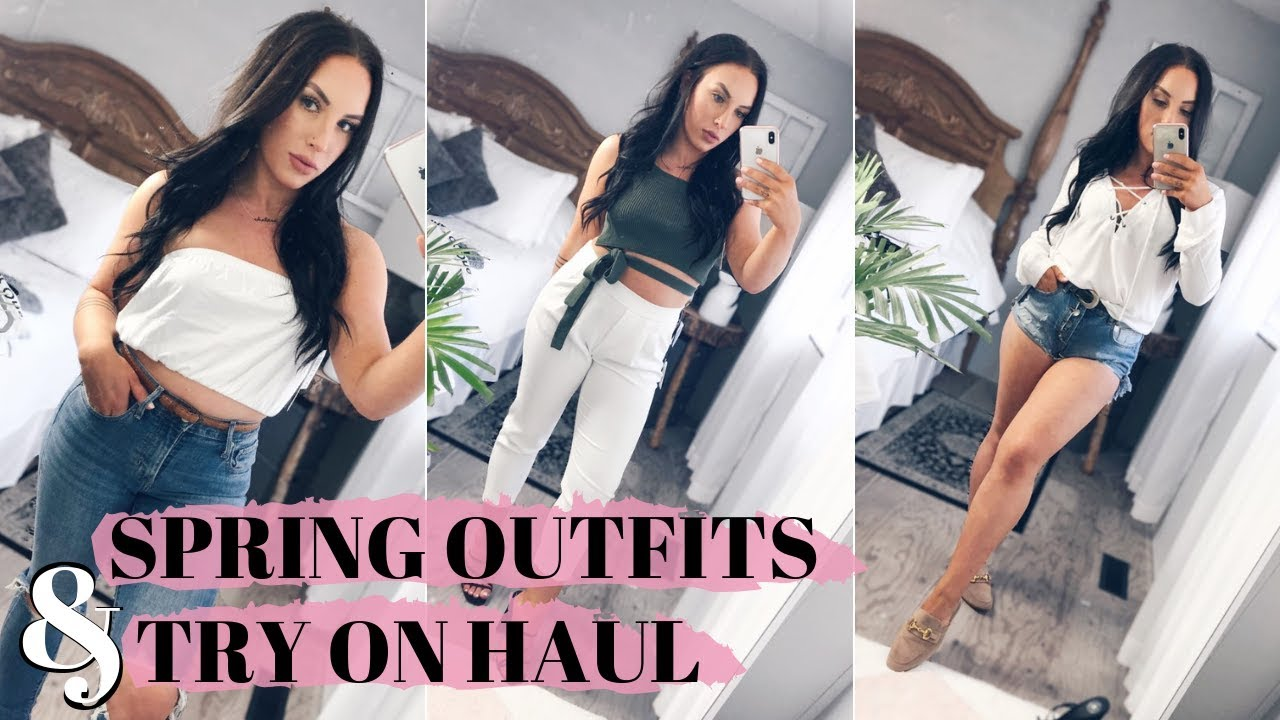TRYING ON SEXY SPRING OUTFITS | BIG ARITZIA HAUL