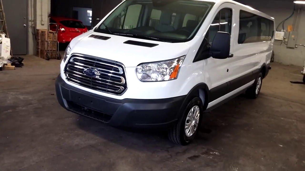 2015 ford transit t 350 xlt 12 passenger wagon youtube