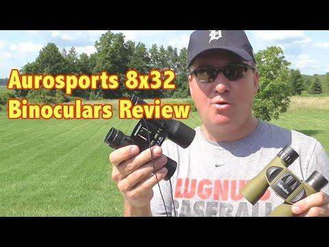 8x32 Nikula Aurosports Binoculars Review.  Cost only $29.00