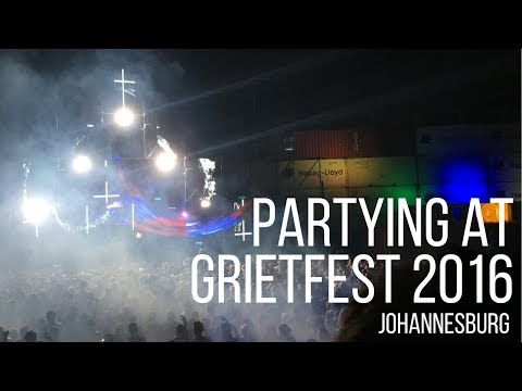 PARTYING AT GRIETFEST | EVENTS IN JOBURG - Boring Cape Town Chick
