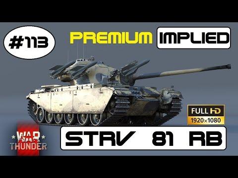 Lets Play War Thunder GF #113 der Britische Strv 81 Premium Panzer im RB [DE] HD