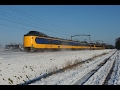 Dutch Train Ride .. Zwolle to Utrecht .. (Passenger View) Winter and Snow