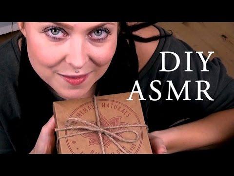 ASMR DIY  🌹 Rose Himalayan Salt Scrub 🌹