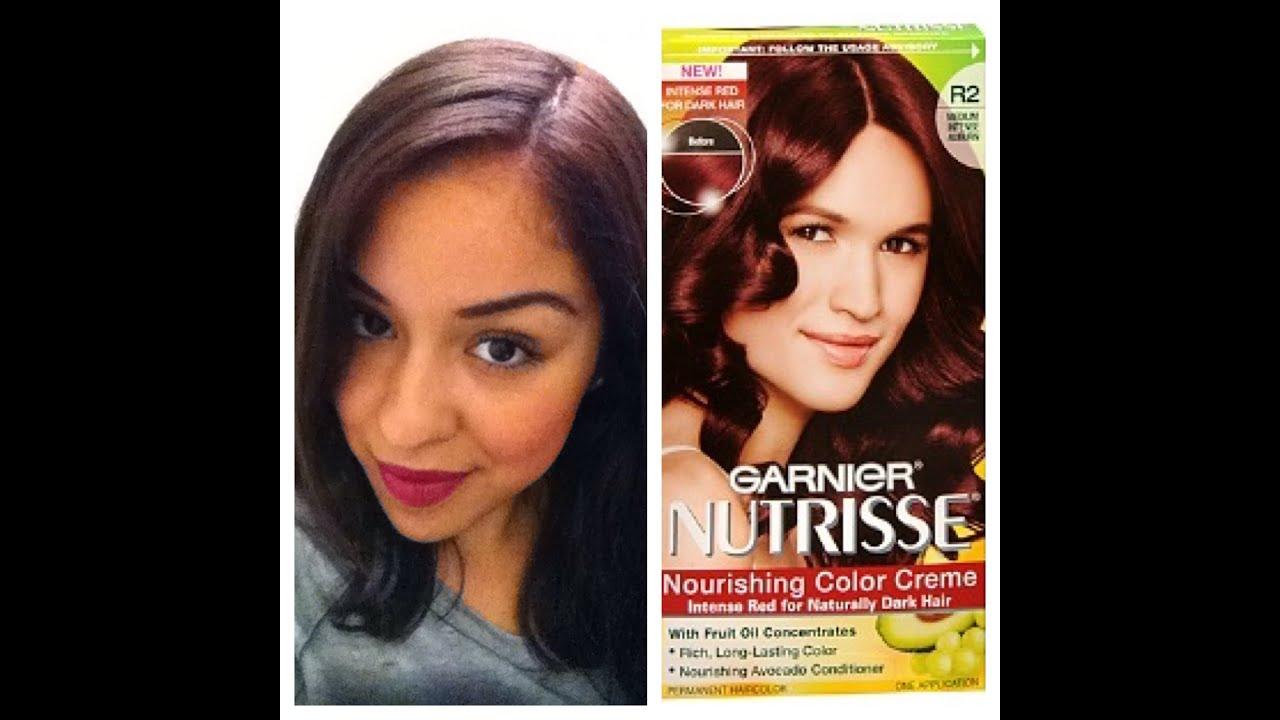 Garnier Nutrisse Ultra Hair Dye Review YouTube