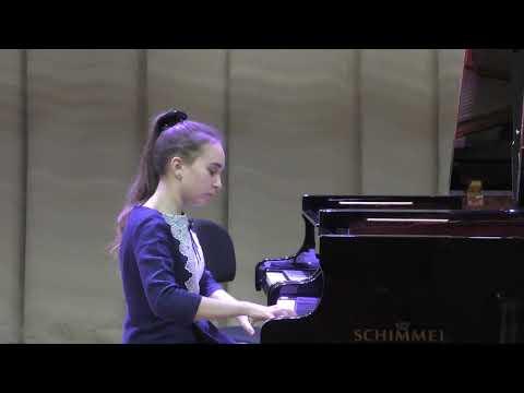 Конкурс юных пианистов ПРИМАВЕРА (фрагмент)