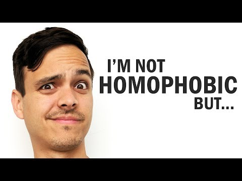 I'm Not Homophobic But ...