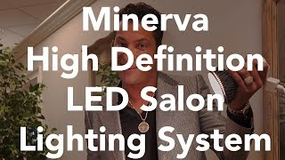 Minerva High Definition LED Salon Lighting System | Minerva Beauty