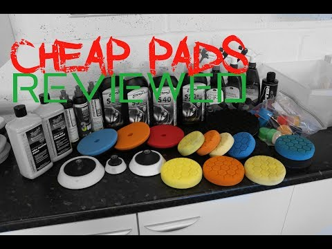 Cheap Chinese polishing pads reviewed