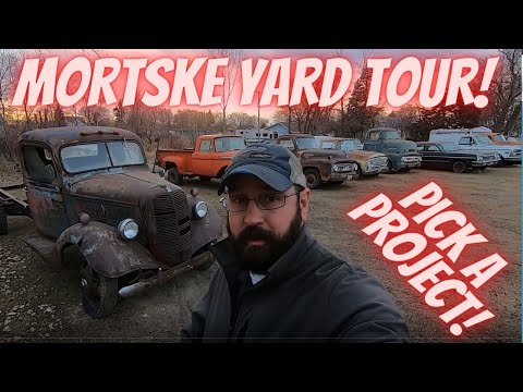 Mortske Repair Yard Tour! What should we work on next?!? Letting the subscribers pick the project!