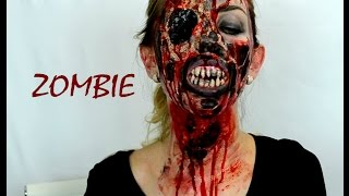 як зробити себе зомбі на Хеллоуїн