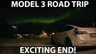 Model 3 road trip from Oslo to Finnish Lapland