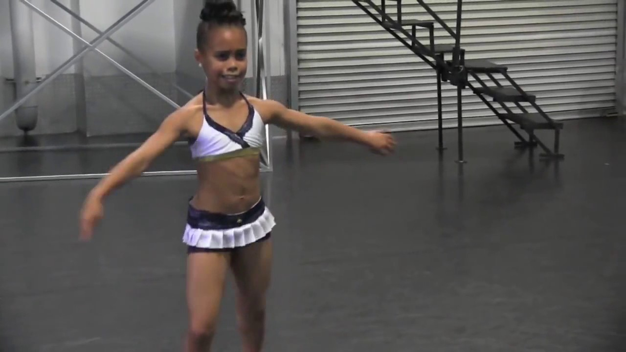 Exclusive  Asia Ray Dance Moms Dances   Improvises Christina Aguilera's Ain't No Other Man