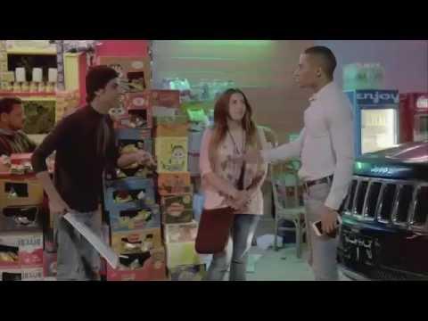 محمد رمضان ودنيا سمير غانم وحمدي الميرغني من مسلسل لهفة مسخرة Youtube