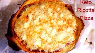 Keto Ricotta Pizza