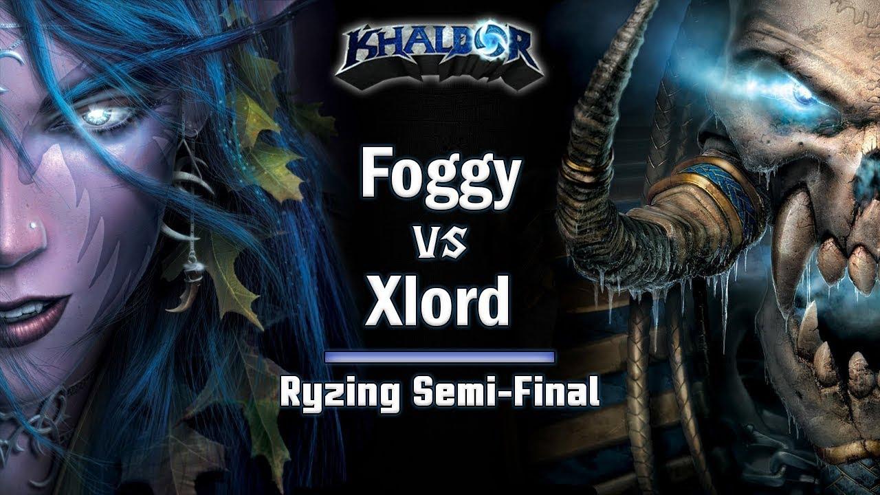 ► WarCraft 3 - Xlord (UD) vs. Foggy (HU) - Ryzing Cup #6