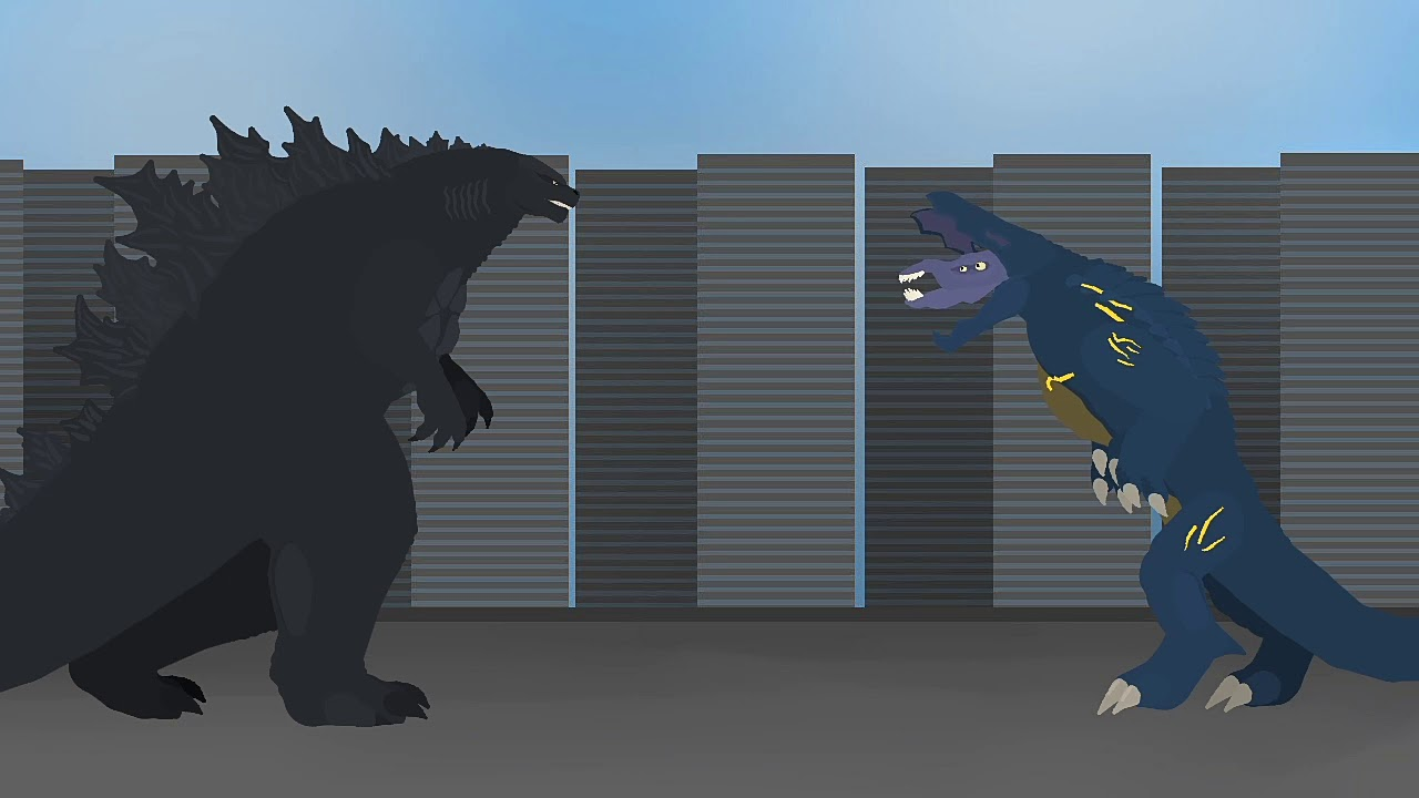 Godzilla Vs Raiju Animation Youtube The hybrid kaiju was made from raiju (pacific rim) and godzilla (monsterverse). godzilla vs raiju animation