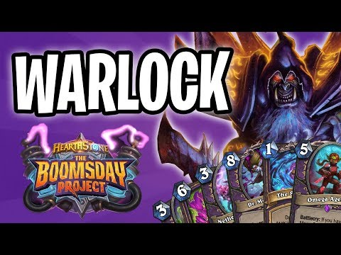 WARLOCK Card REVIEW   The Boomsday Project   Hearthstone