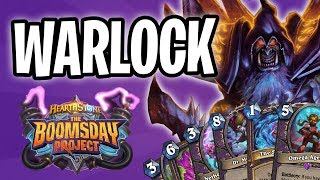 WARLOCK Card REVIEW | The Boomsday Project | Hearthstone