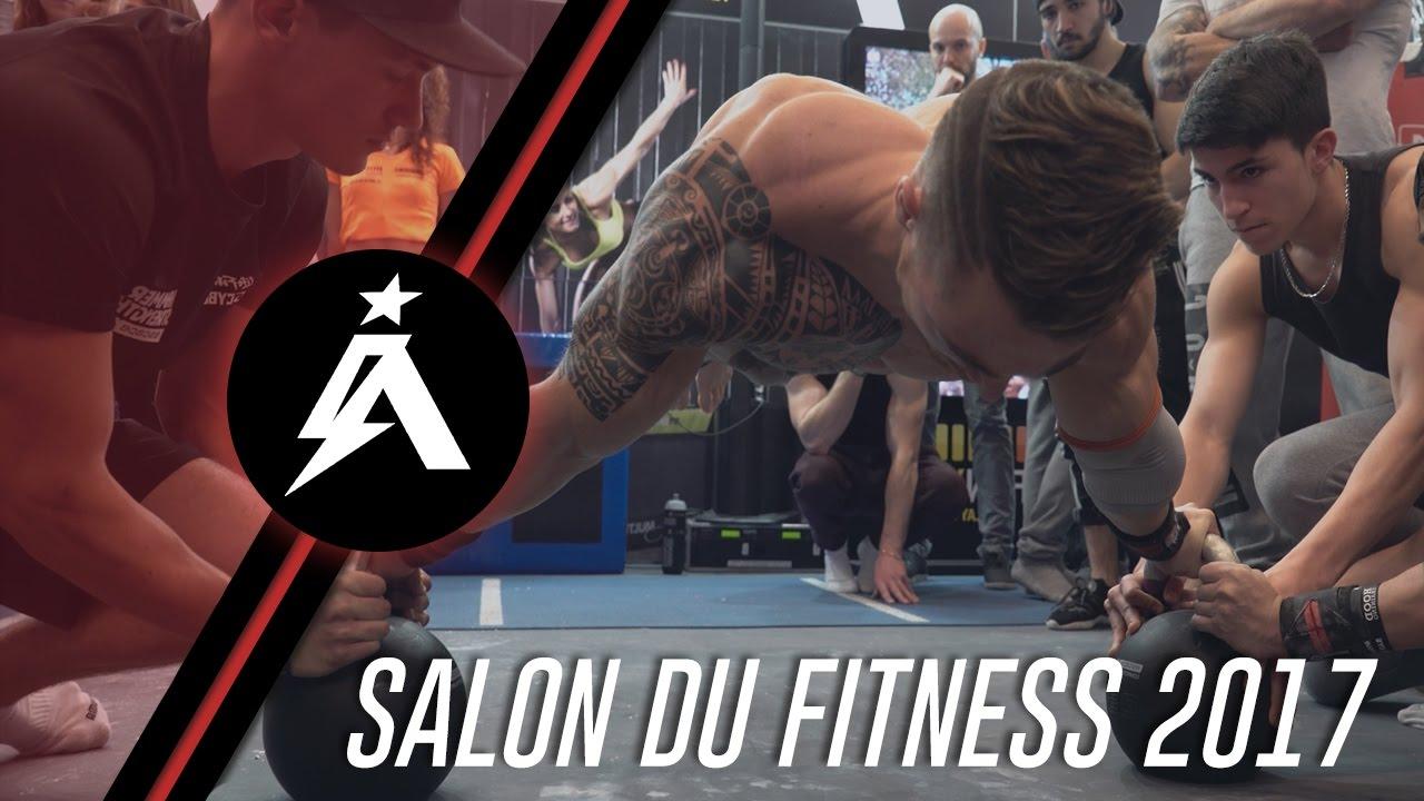 alexandre izzi salon du fitness 2017 youtube