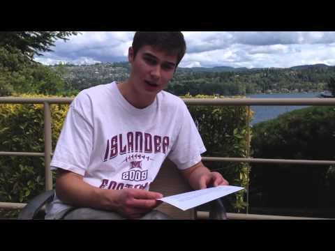 Personal Narrative Poem Breakdown-Henry LaVallee