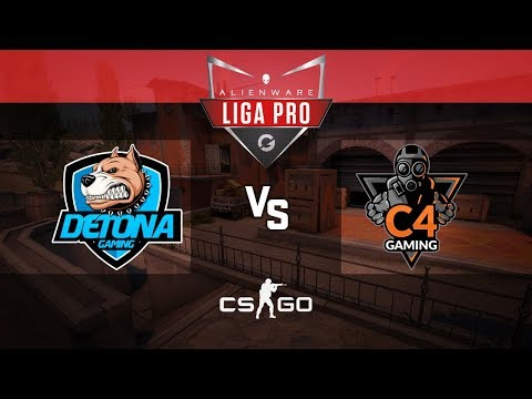 Alienware Liga Pro Gamers Club AGO/18 - DETONA vs C4 Gaming (Inferno)