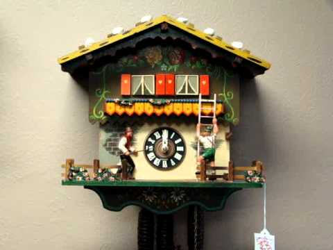 Farmers Daughter Schmeckenbecker Cuckoo Clock Gulf Coast