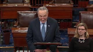 Senate Democratic Leader Chuck Schumer (D-NY) Delivers Weekly Democratic Address