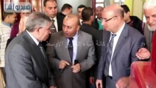 بالفيديو: محافظ المنوفية ووزير التموين يفتتحان مطحن سلندرات شبين الكوم بعد تطويره