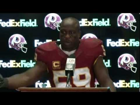 London Fletcher Post Game Press Conference vs. Cowboys