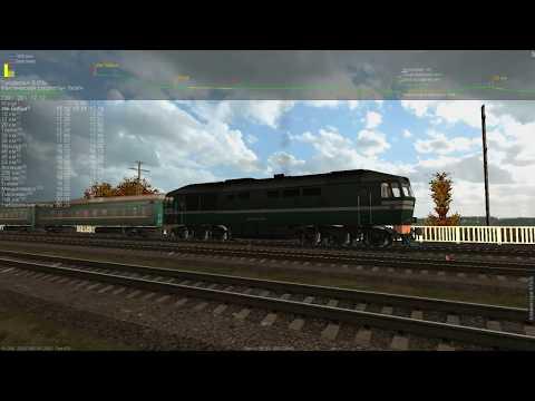 ТЭП70-0531 пригородный поезд №6751 по маршруту Агрыз - Набережные Челны ч. 1