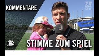 Die Stimme zum Spiel | Hamburger SV U16 - FC St. Pauli U16 (20.Spieltag, B-Junioren Regionalliga)