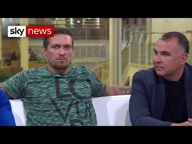 Ukranian boxer Oleksandr Usyk wants to fight Deontay Wilder