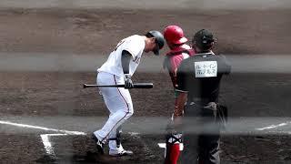BCリーグ交流戦 信濃グランセローズ対読売ジャイアンツ三軍 佐久総合...