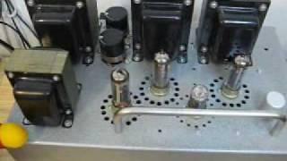 DIY audio - Single Ended Triode Amplifier (EL84 + 6211)
